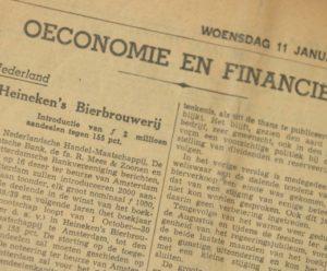 1939 Eerste aandeel HEINEKEN 3