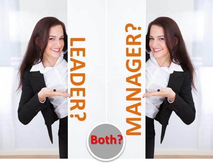 diferente management si leadership