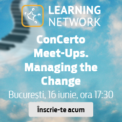 ConCerto Meet-Ups – Managing the Change, 16 iunie