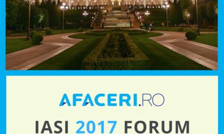 Marti 4 aprilie – Forumul Afaceri.ro Iasi 2017