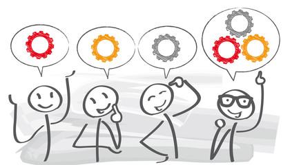 4 moduri sa iti faci angajatii sa gandeasca inovativ
