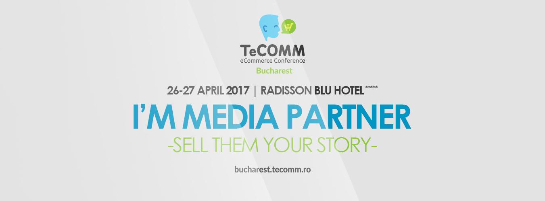 I am Media Partner TeCOMM București