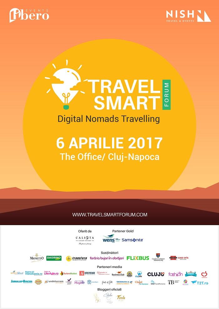 Incepe Travel Smart Forum Cluj, evenimentul dedicat pasionatilor de tehnologie si calatorii