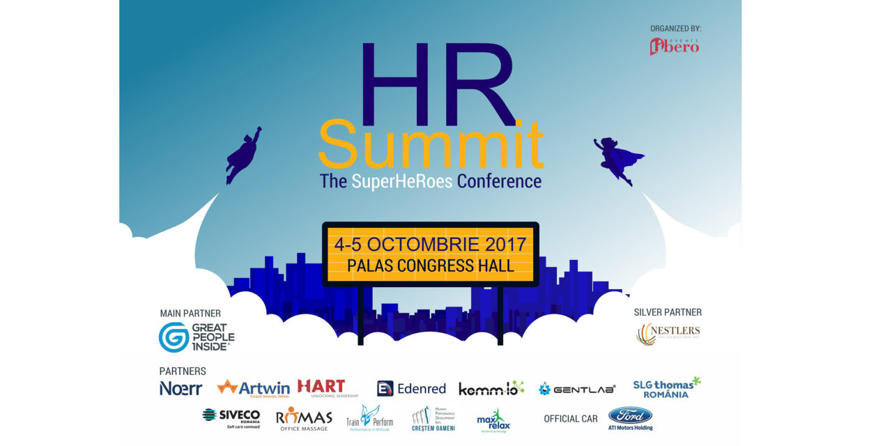 Cine este primul speaker interantional anuntat la HR Summit Iasi