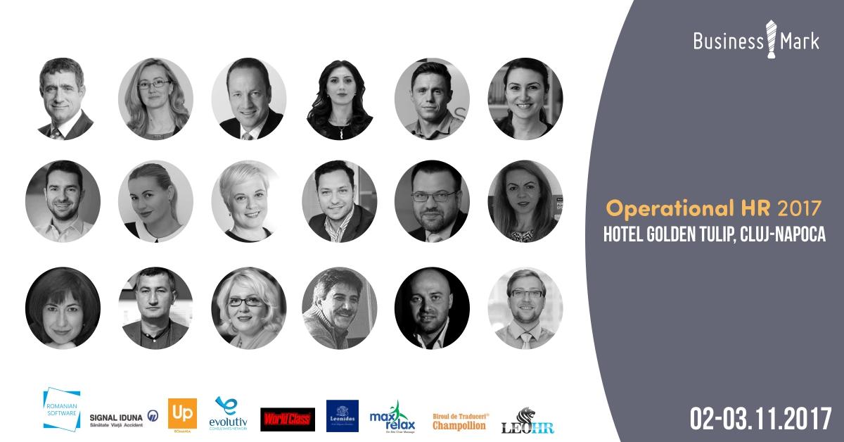 2-3 noiembrie, Cluj-Napoca, Operational HR 2017