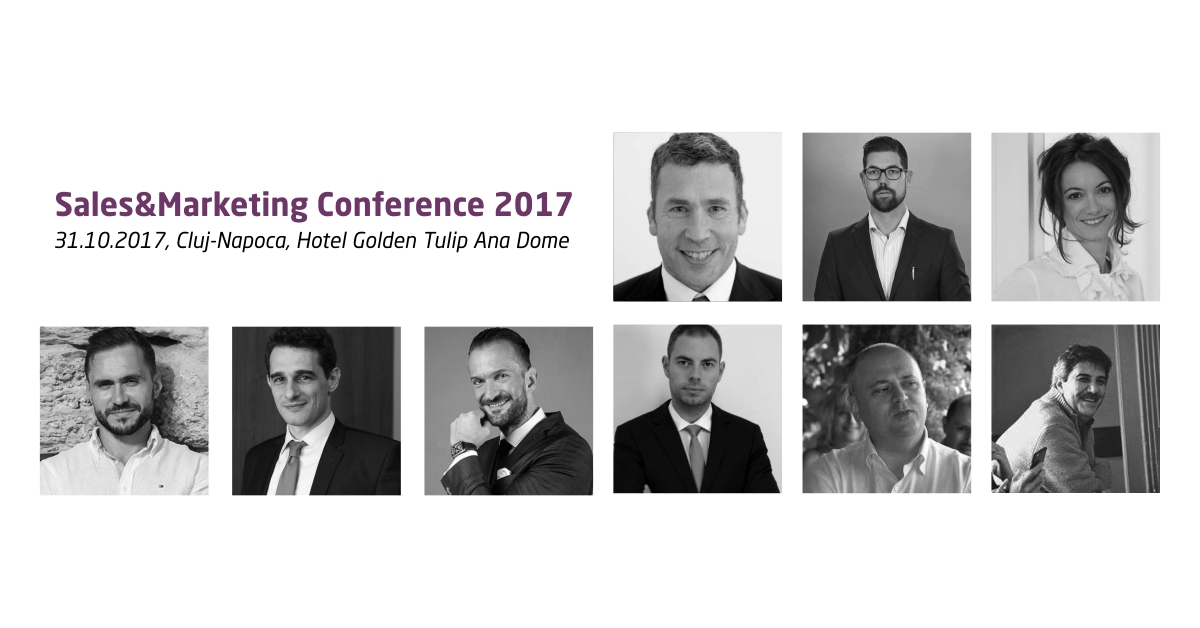 31 octombrie, Cluj-Napoca, Sales & Marketing Conference 2017