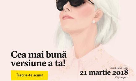 Melania Medeleanu – amplificator de voci si model de implicare – in 21 martie la The Woman