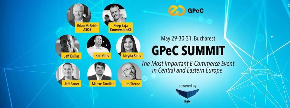 29-30-31 Mai- GPeC SUMMIT, București