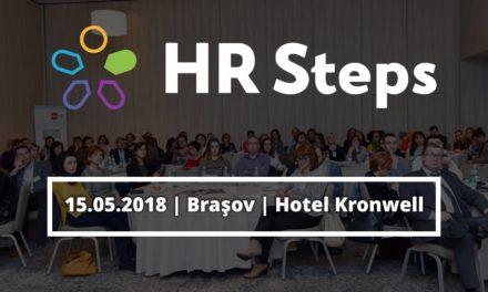 Evenimentul HR Steps Brașov: Liderii și profesioniștii în resurse umane discută despre rolul strategic al departamentelor de HR în dezvoltarea regională