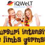 Centrul iQWeLT organizeaza cursuri de germana pentru copii