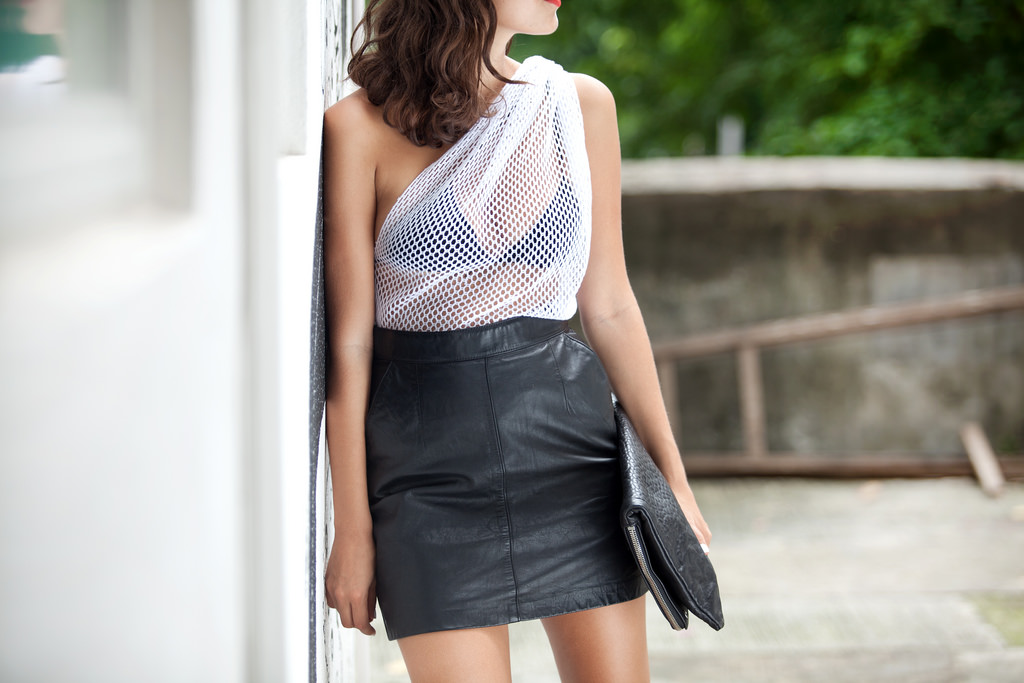 mesh dress 1