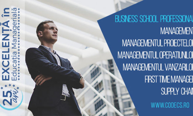 6 programe de perfectionare in management | CODECS Business School Professional