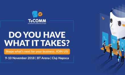 TeCOMM 2018: Intr-o piata in care consumul este in crestere au magazinele online ceea ce trebuie pentru a fi in eCommerce?