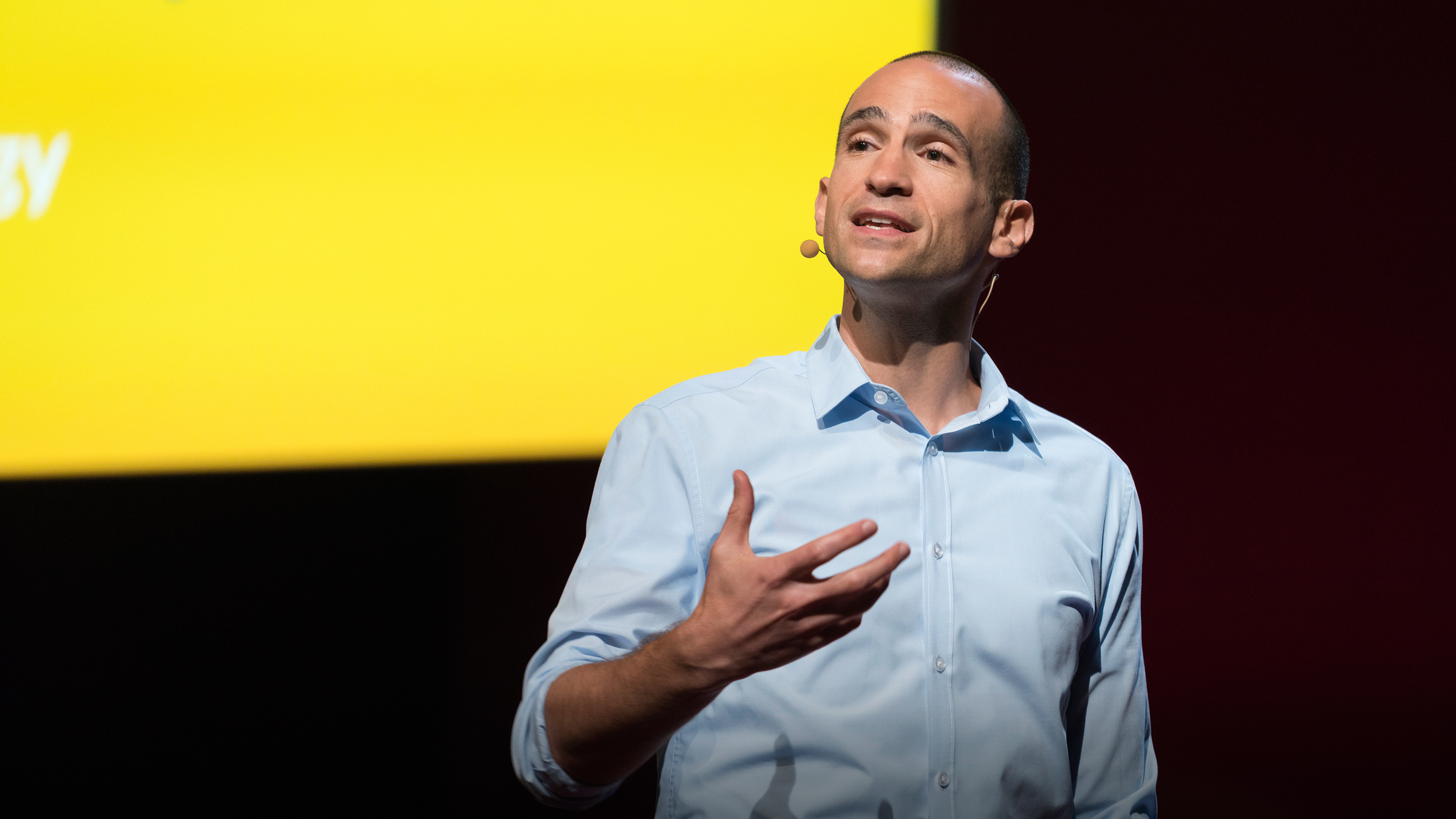 Nir Eyal speaks at TED@IBM - Necessity and Invention, October 15, 2015, Yerba Buena Center for the Arts, San Francisco. Photo: Russell Edwards/TED