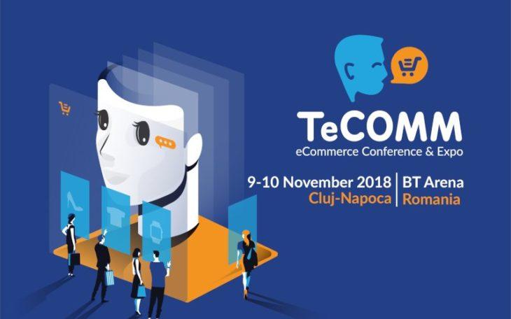 Roboti humanoizi si produse din viitorul comertului online,  la TeCOMM Cluj 2018