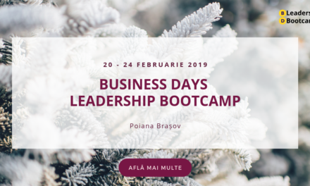 20-24 februarie 2019 – Leadership BOOTCAMP