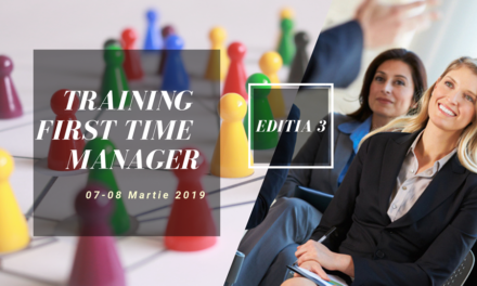 07-08 Martie 2019 – Training intensiv First Time Manager