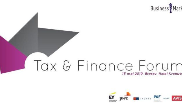 15 mai 2019 – Tax & Finance Forum, Brașov