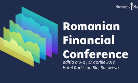 17 aprilie 2019 – Romanian Financial Conference