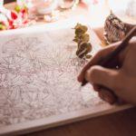 7 carti de colorat pentru adulti care vor indeparta tot stresul de la munca