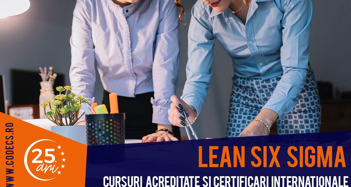 Cursurile Lean Six Sigma 2019 – CODECS