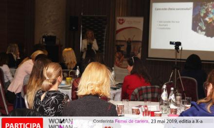 23 mai 2019 – Conferinta Femei de cariera