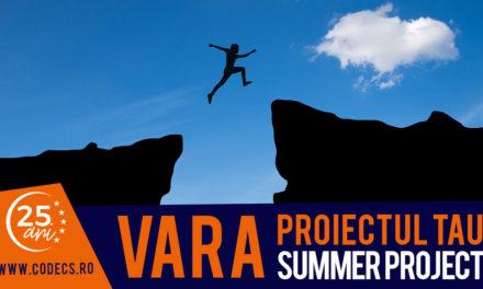 1 – 20 iunie 2019 – Summer School By CODECS