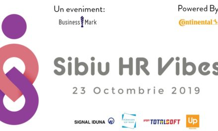 "Feel the HR Vibes, pe 23 octombrie 2019 @Sibiu!  ""Shared Experience for Better Business"""